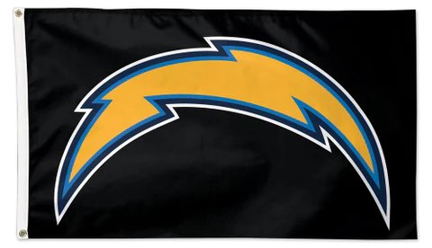 los angeles chargers thunderbolt