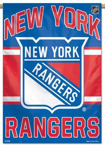 new york rangers official nhl hockey team premium 28x40 wall banner wincraft inc