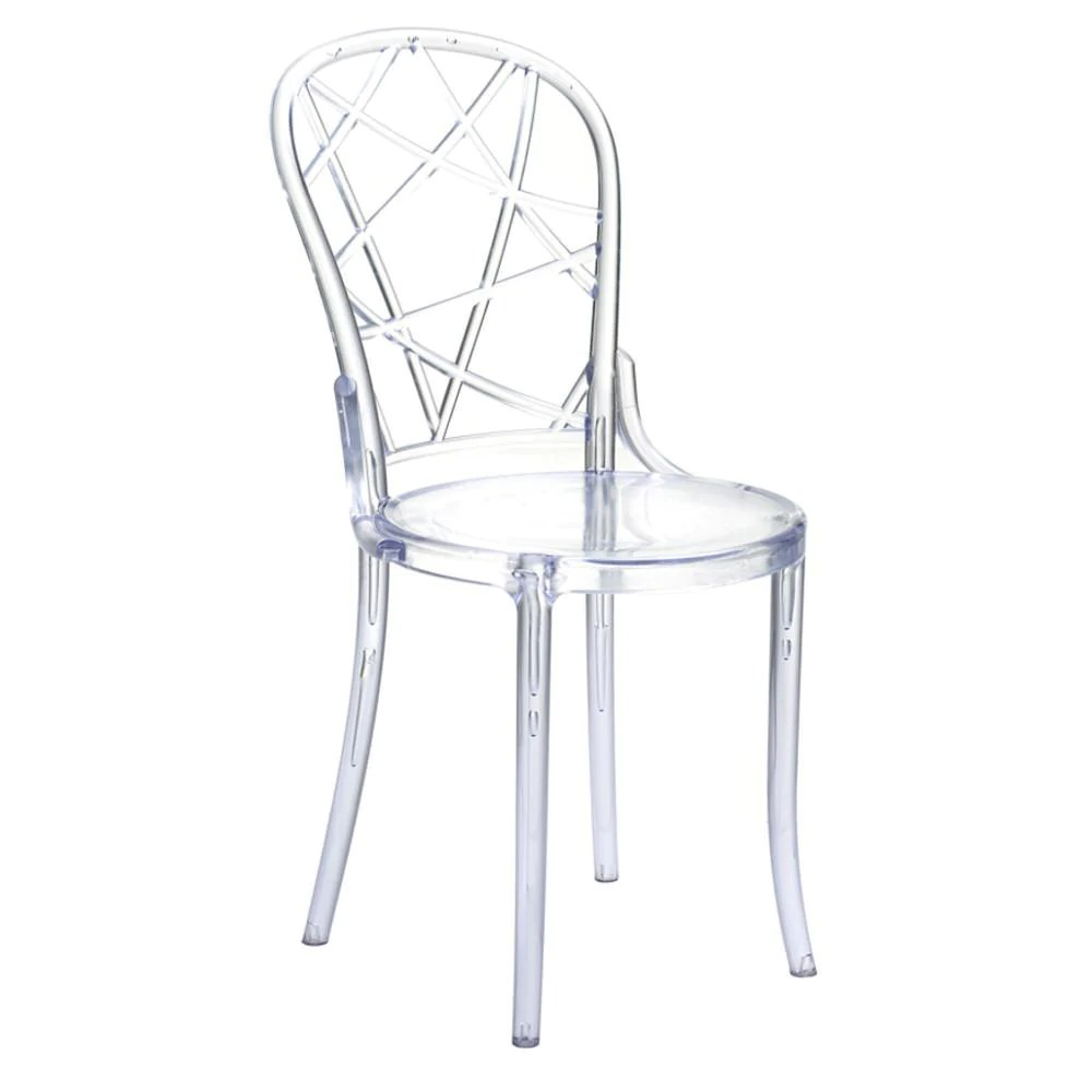 Plastic Clear Chair Buy Spiral Clear Chair At Lifeix Design For Only 235 00