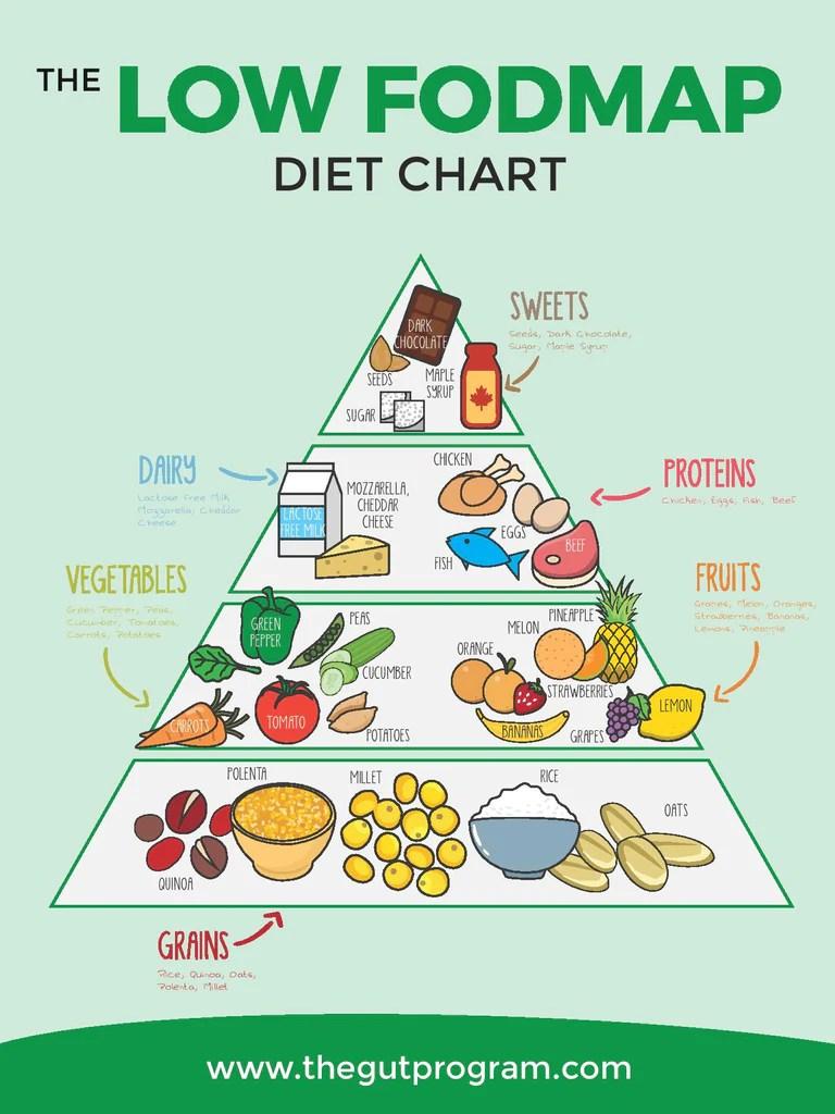 Low fodmap diet chart also  the gut program rh thegutprogram