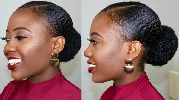 Five Easy Natural Hairstyles For Work Nude Barre