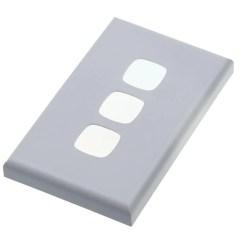 Hpm 770 Wiring Diagram Bt Master Phone Socket Weatherproof Light Switch Excel 10 Amp Two Gang Wall Xl770 3 Three Cover Plate Matt Silver
