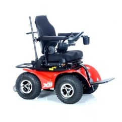 All Terrain Electric Wheelchair Rocking Glider Chair Innovation In Motion Extreme X8 Power Mobility Ready