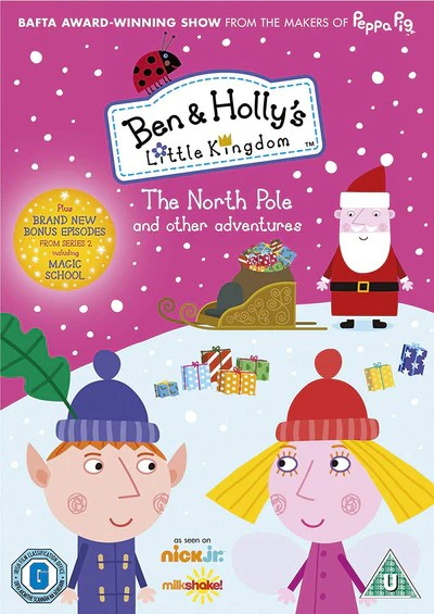 Ben And Holly S Little Kingdom The North Pole Neville Astley Dvd Golden Discs