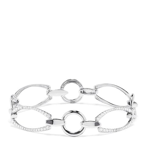 Effy 14K White Gold Diamond Bracelet, 0.57 TCW