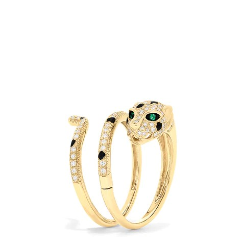 Effy Signature 14K Gold Diamond Single or Double Finger Ring, 0.41 TCW