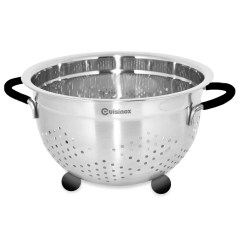 Kitchen Colander Marine Cabinets Stainless Steel With Rubber Feet Cuisinox Bear Country Rossland Bc