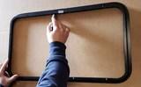 Template Van Window Installation