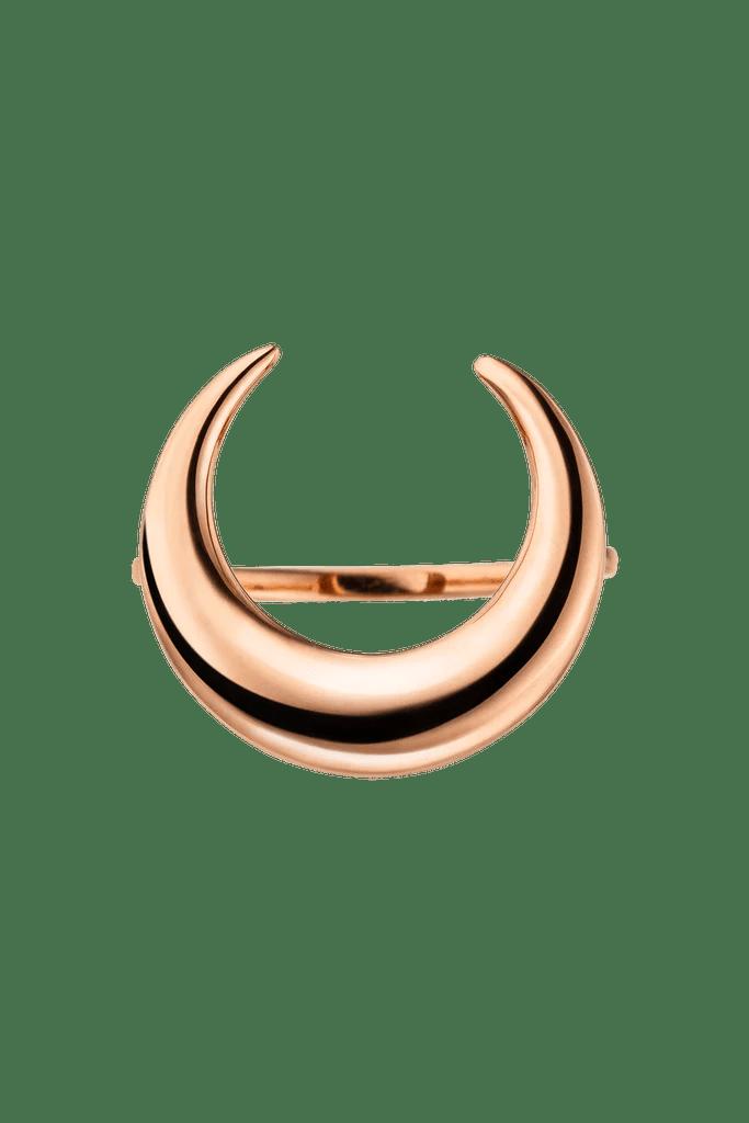 Moon Ring Rose Gold Paul Valentine France