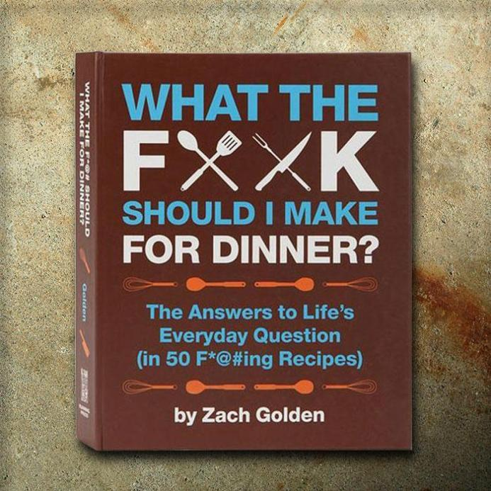 What the Fuck Should I Make for Dinner Book | Stay at Home Mum