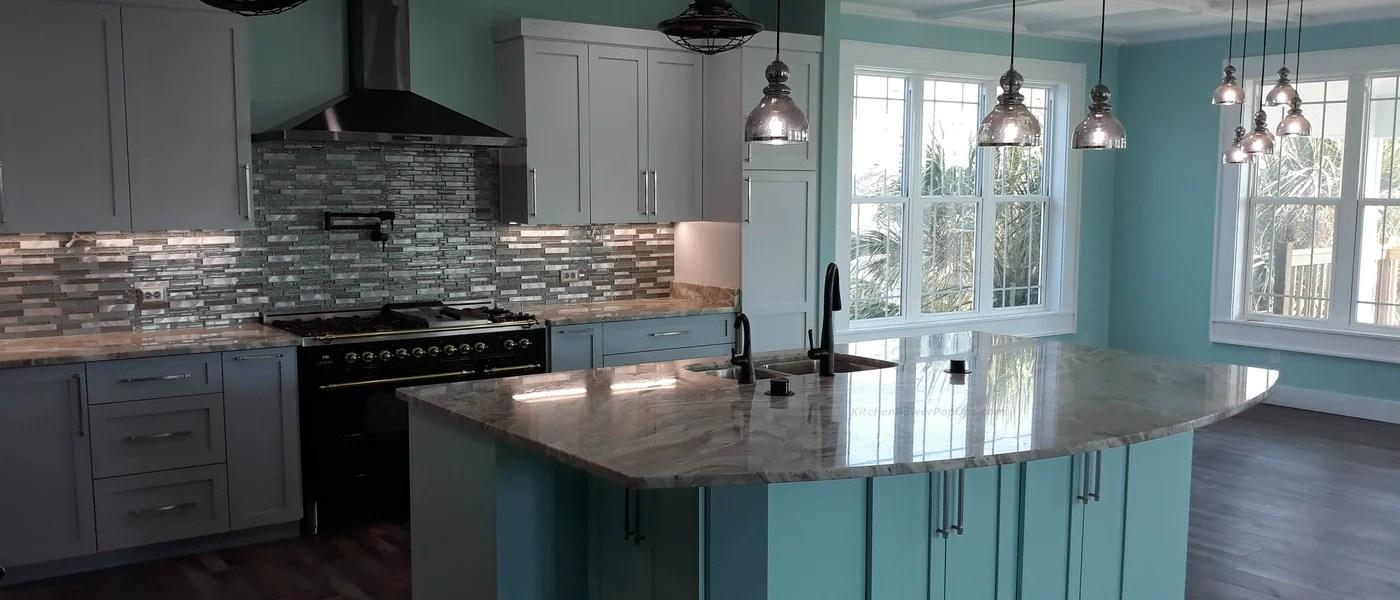 Kitchen Power Pop Ups Hidden Countertop Outlet Receptacles