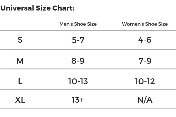 Although the sizing across all of our brands varies we created  universal size chart as guide also to sock sizes  socksaddict rh