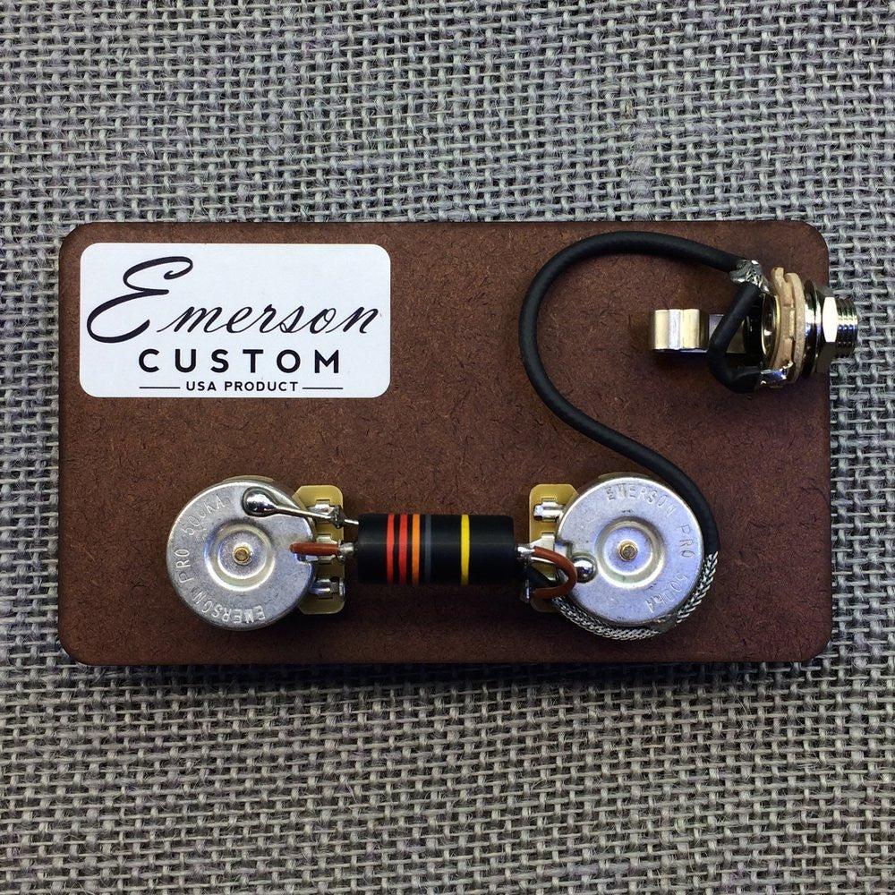 les paul junior prewired kit emerson custom rh emersoncustom com gibson les paul wiring diagram les paul 50s wiring [ 1000 x 1000 Pixel ]