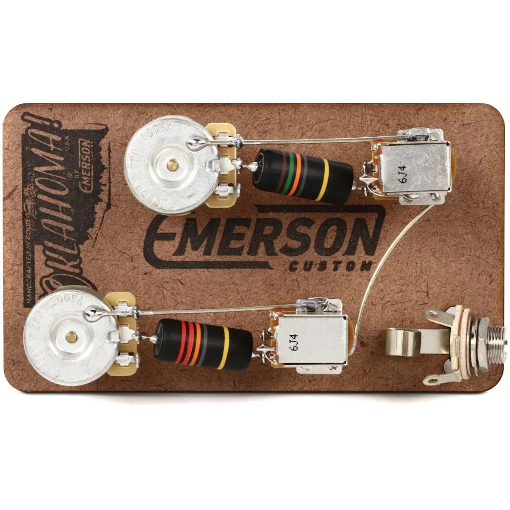 les paul prewired kit w push pull tone pots [ 1260 x 686 Pixel ]
