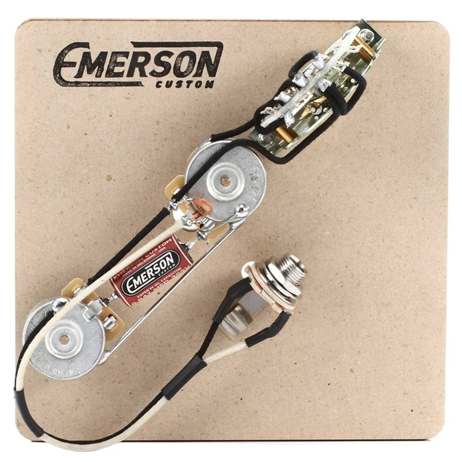 medium resolution of 3 way telecaster prewired kit emerson custom basic wiring telecaster telecaster wiring harness