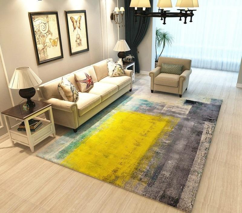 living room floor mats design with tv stand european style mat ushopnow store