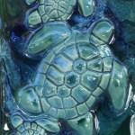 Ceramic Turtle Kitchen Backsplash Tiles Shower Tiles Art Wall Deco Maui Ceramics