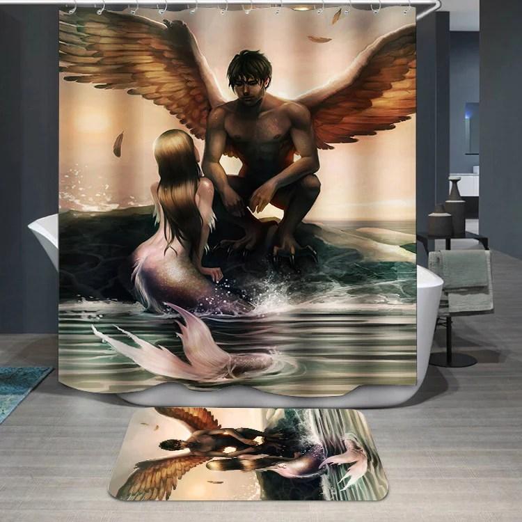 Mermaid Bathroom Set