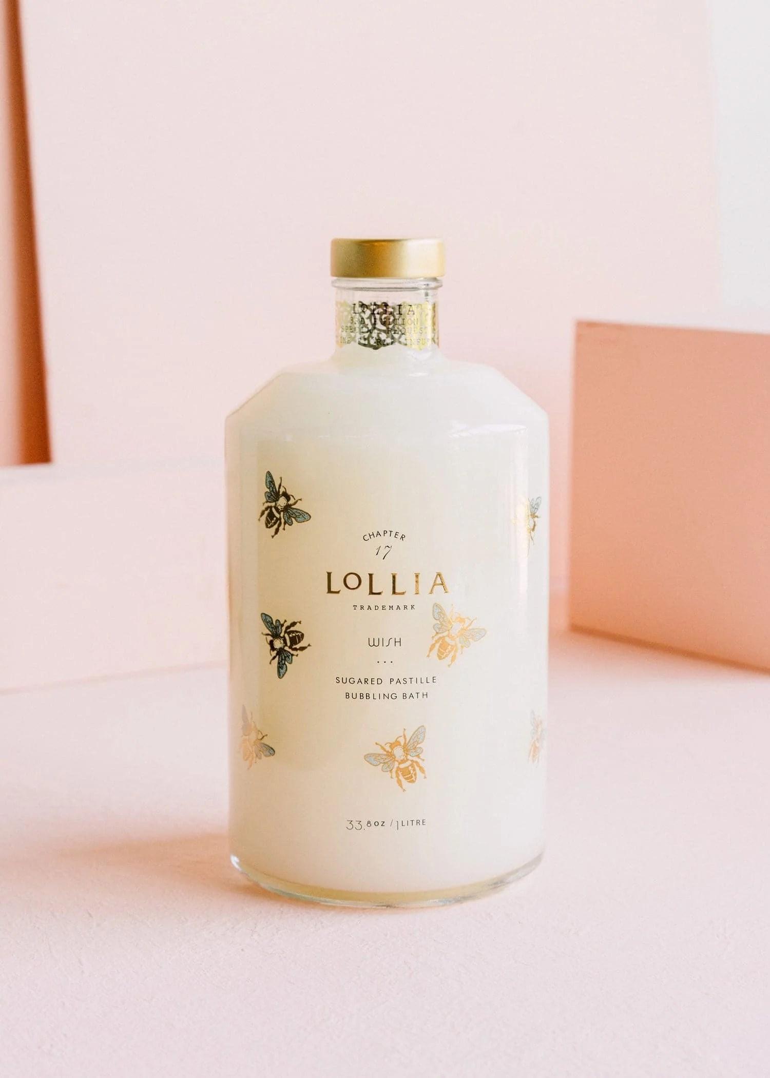 Lollia Wish Perfumed Luxury Bubble Bath Margot Elena