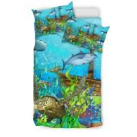 Sea turtle bedding set|1sttheworld.com  1stTheWorld