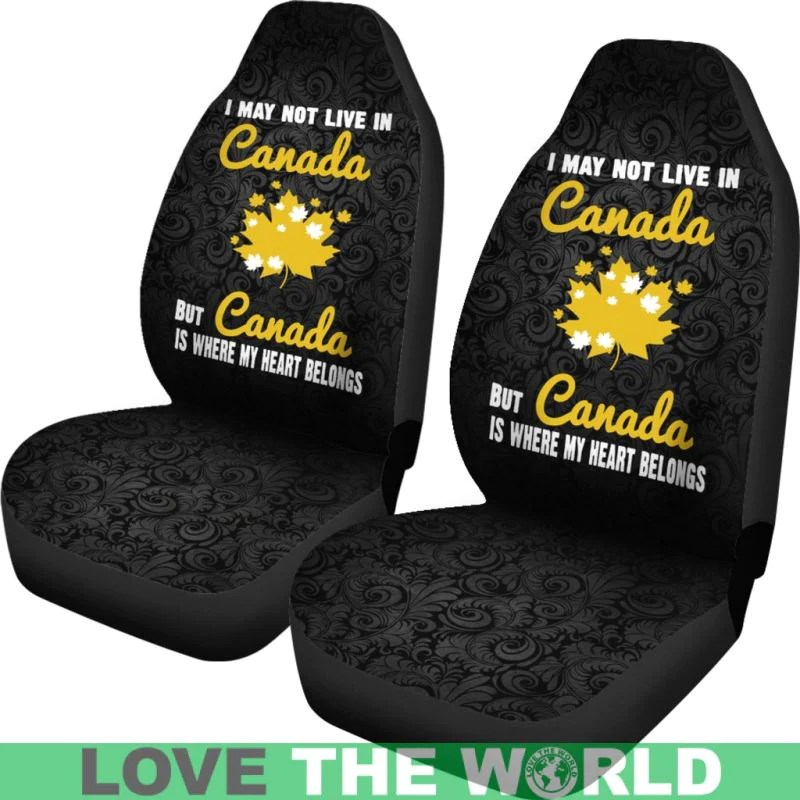 office chair seat covers canada acapulco target where my heart belong car cover s2 lovetheworld tap to expand