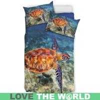 Hawaii'S Sea Turtle Hawaiian Bedding Set 03 C1  1stTheWorld