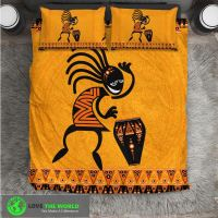 KOKOPELLI DANCE BEDDING SET HA8  1stTheWorld
