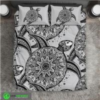 NATIVE AMERICAN TURTLE BEDDING SET HA8  1stTheWorld