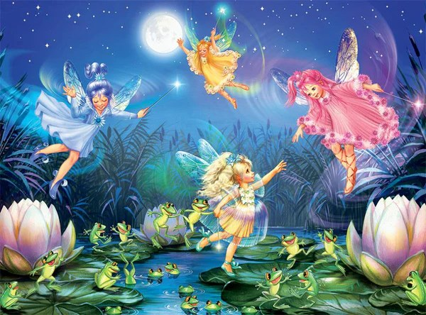 forest fairies fairies with