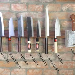 Japanese Kitchen Knife Wear Types Of Knives Sharpedge