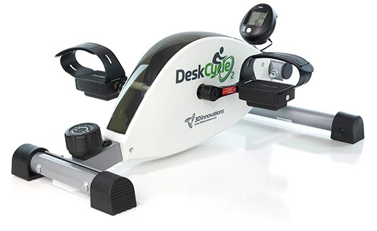DeskCycle underdesk exercise bike with reviews