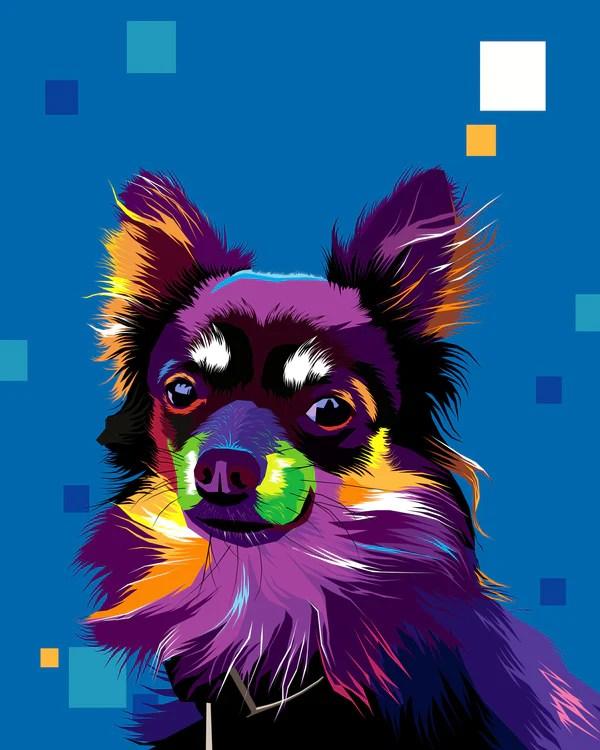 Wpap Color Palette : color, palette, Portrait, Artists, Online, Monkey, Store