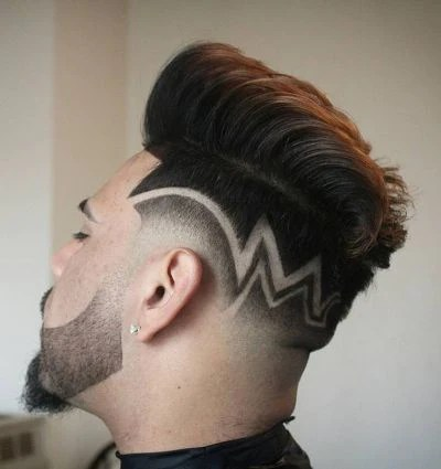 haircut design - barbershop