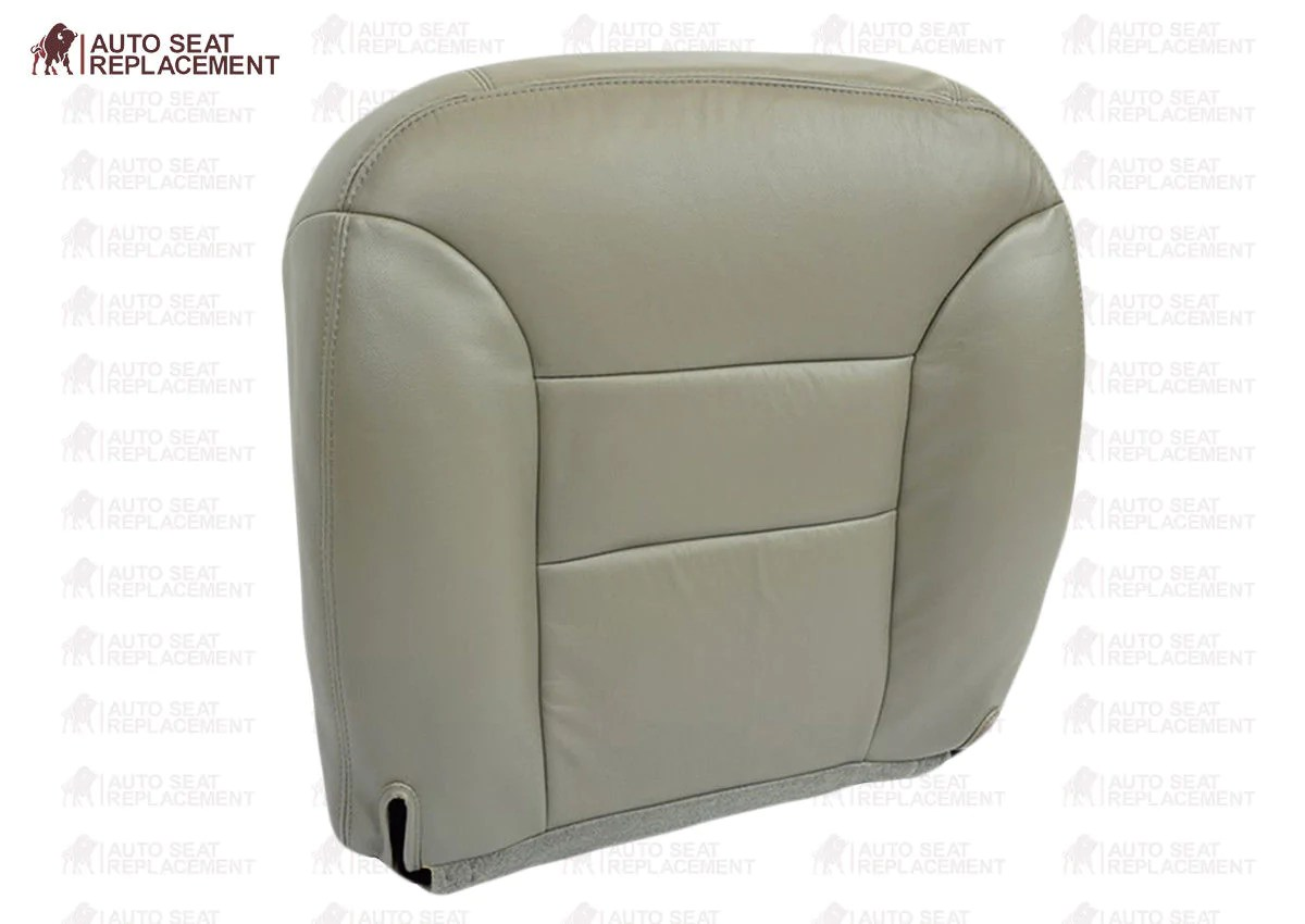 small resolution of 1995 1996 1997 1998 1999 chevy tahoe driver or passenger bottom seat cover gray auto