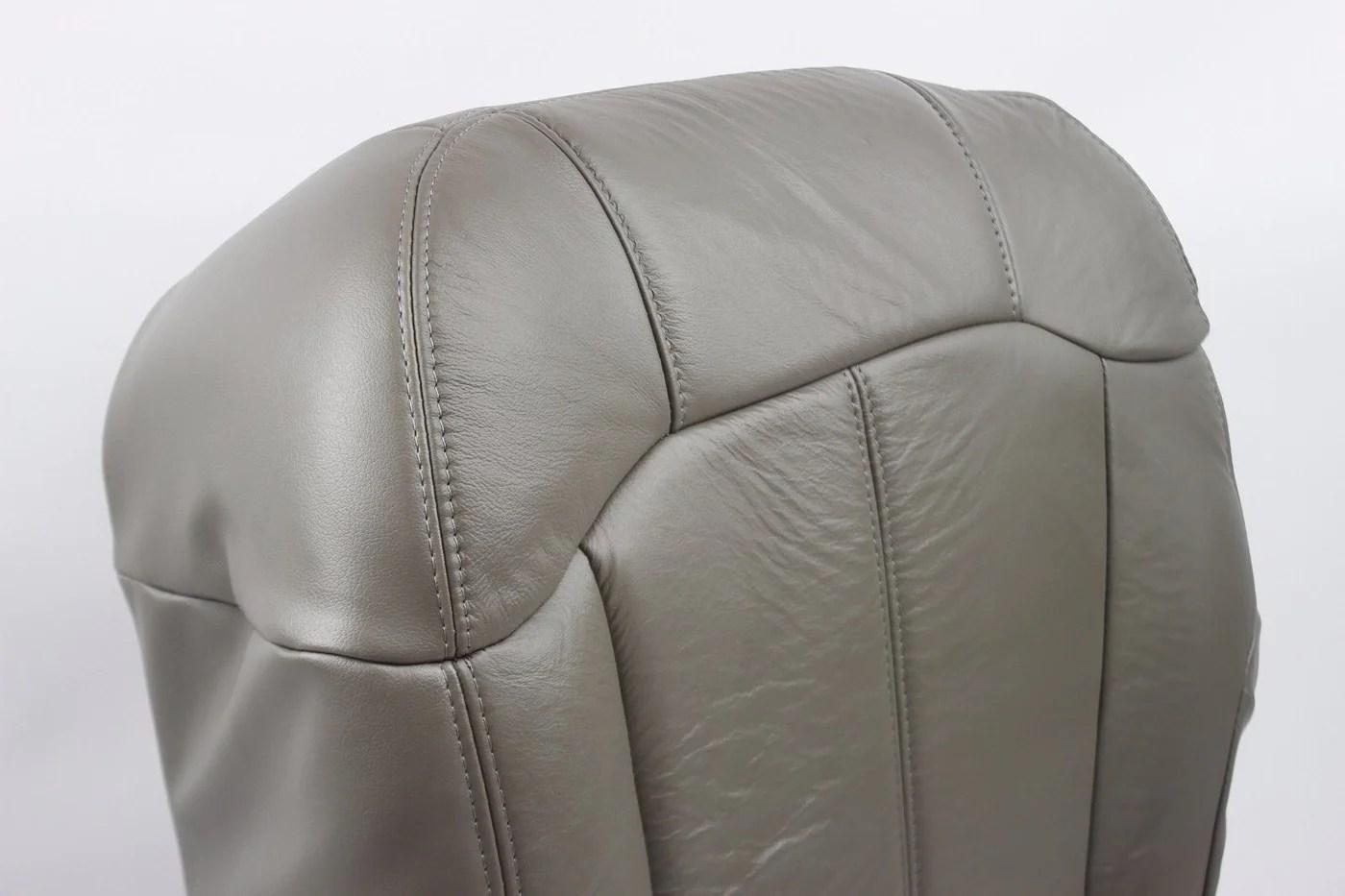 2002 2001 2000 chevy tahoe suburban silverado driver bottom seat cover gray 122 auto seat  [ 1400 x 933 Pixel ]