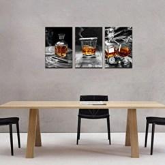 Framed Prints For Kitchens Linen Kitchen Curtains Sea Charm Canvas Wall Art Cigar Whisky Liquor Still
