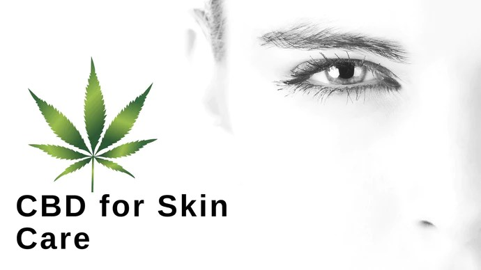 CBD oil for skin care acne anti-wrinkle face cream eye serum