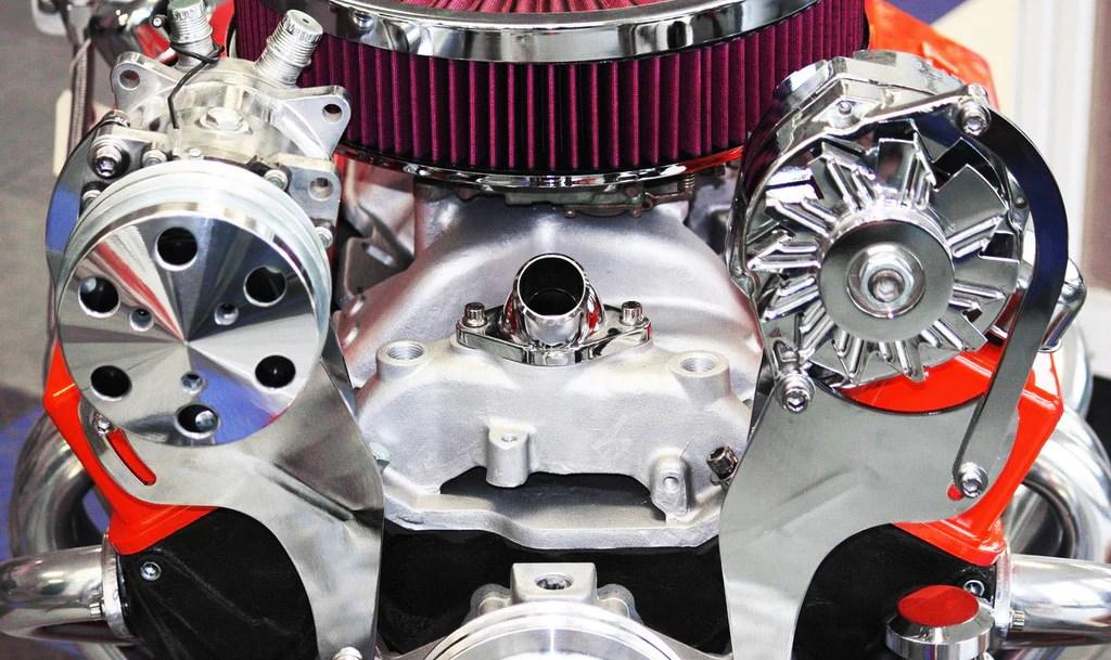 Marine Fuel Pump Chevrolet Air Cleaner Black Carter Electric Fuel Pump