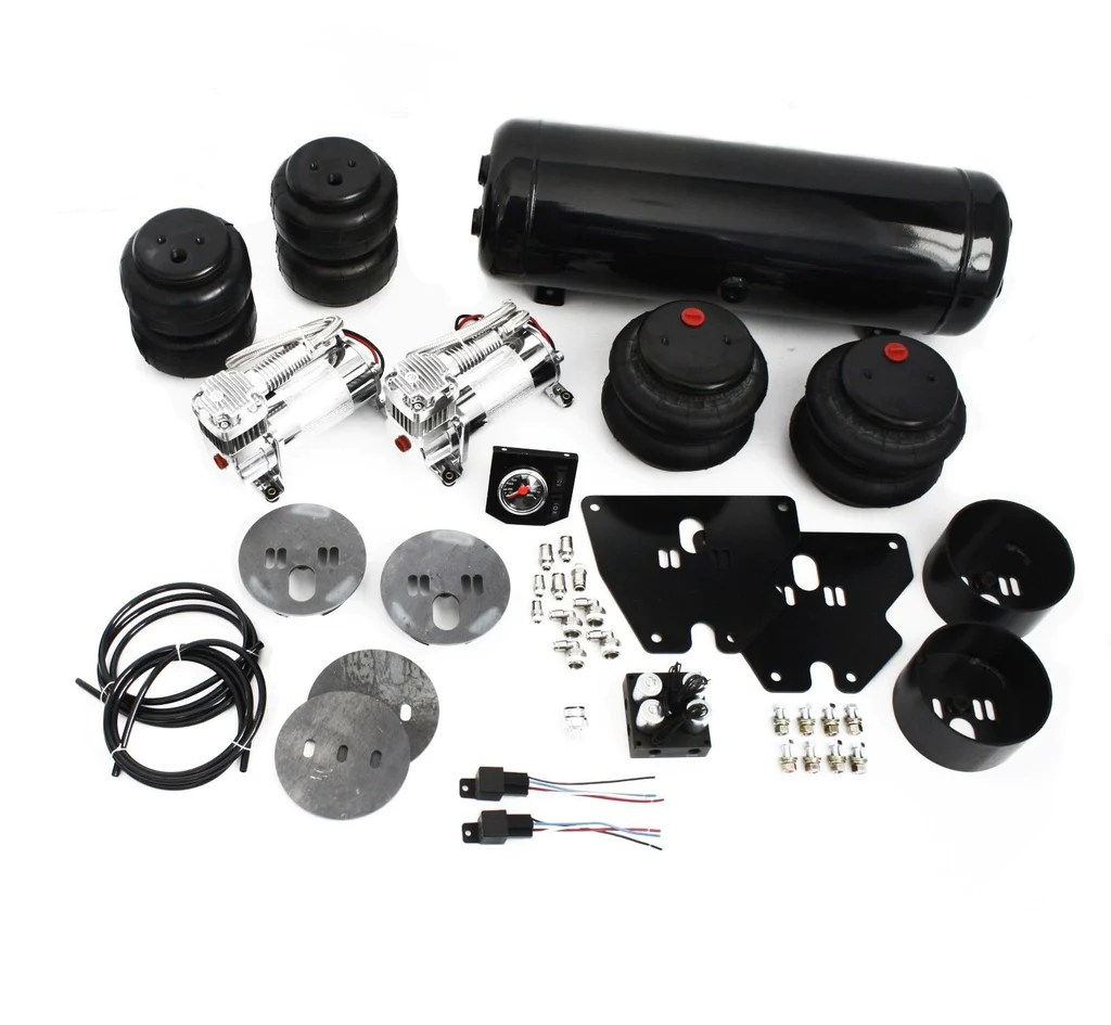 63 72 chevy c10 truck air ride suspension kit 2700 2600lbs bags 2 [ 1024 x 945 Pixel ]