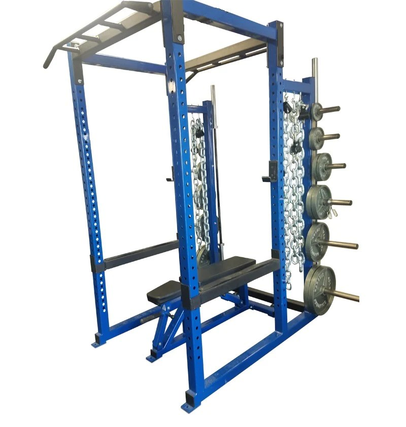power rack deluxe w olympic weight storage 12 pegs