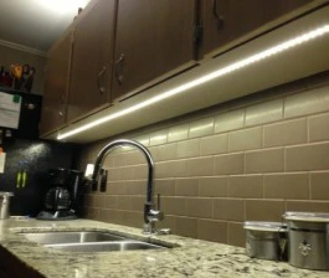A Perfect Way For Anyone Who Wants To Add A Sophisticated And Elegant Lighting Effect To Their Kitchen Cabinets With Minimal Time And Effort Are Under