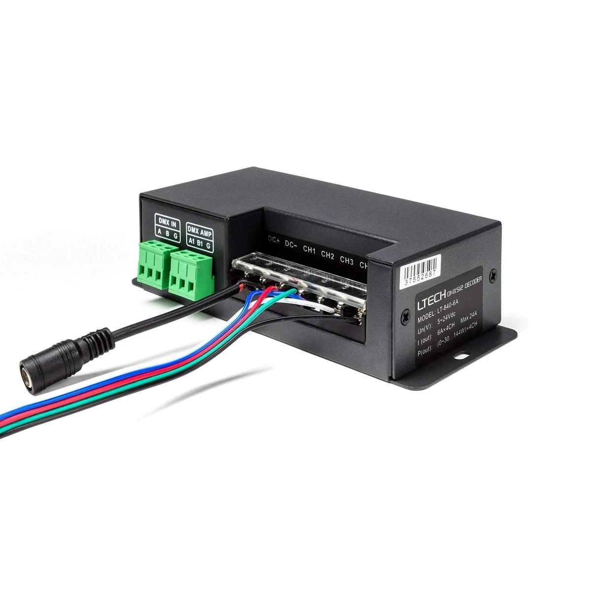 dmx decoder wiring diagram 6 pin [ 1200 x 1200 Pixel ]