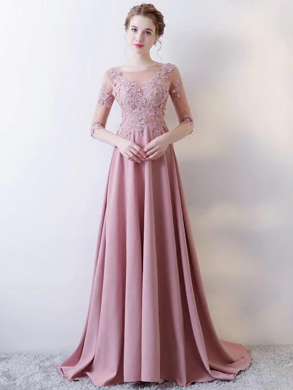 Beautiful Prom Dresses Scoop Aline Short Train Sexy Prom