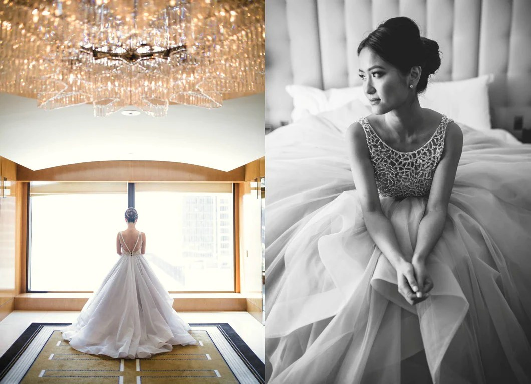 Beautiful Wedding Dresses Aline Open Back Sweep Train Chic