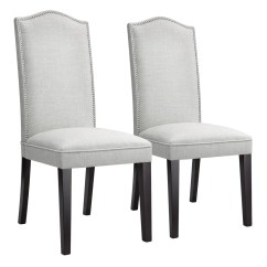 High Back Contemporary Chairs Best Guitar Chair Modern Faux Linen Upholstered Dining Set