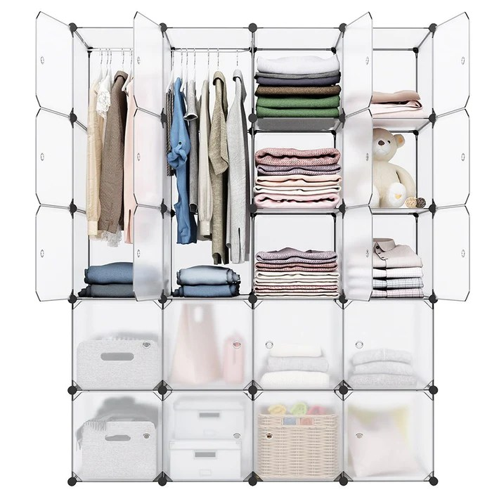 20 cube organizer stackable