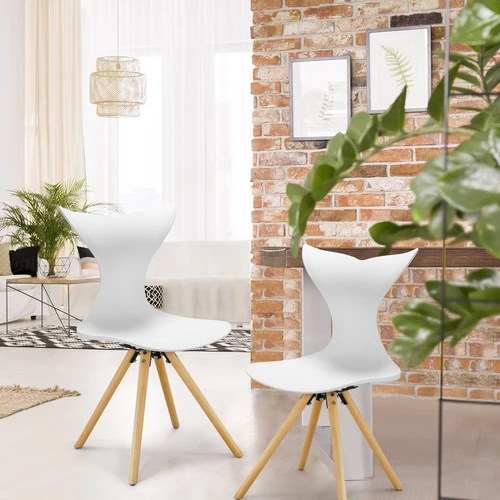 modern living room chairs cheap gray black and white ideas dining langria 2 pack with beech legs