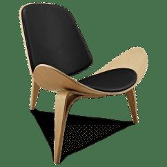 Shell Chair Replica Eames Time Life Ch07 Hans J Wegner Designer Voga