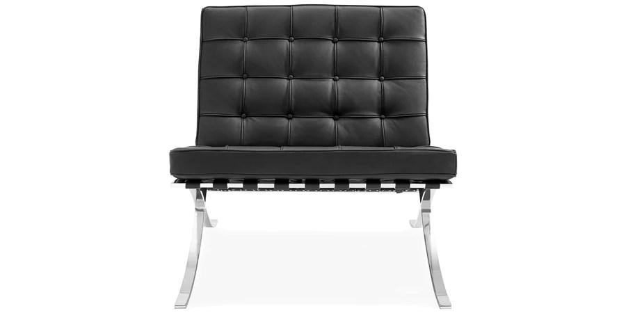 barcelona chair replica uk rv captain chairs seat covers mies van der rohe designer voga