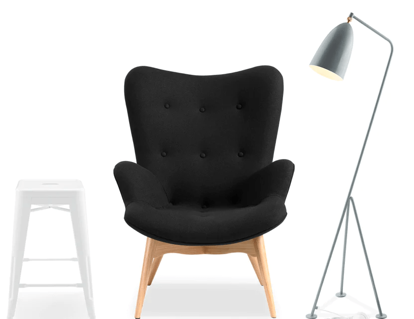 bubble club chair replica high desk chairs handmade designer furniture voga originals